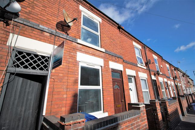 Thumbnail Terraced house to rent in Balfour Road, Derby