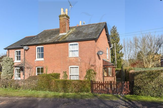 Thumbnail Semi-detached house for sale in Lockerley Green, Romsey