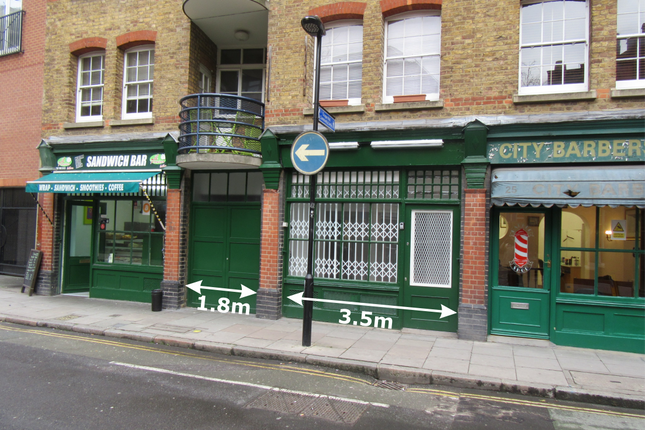 Thumbnail Retail premises to let in Newton Street, London