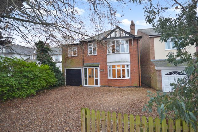 Thumbnail Detached house for sale in Stoughton Road, Oadby, Leicester
