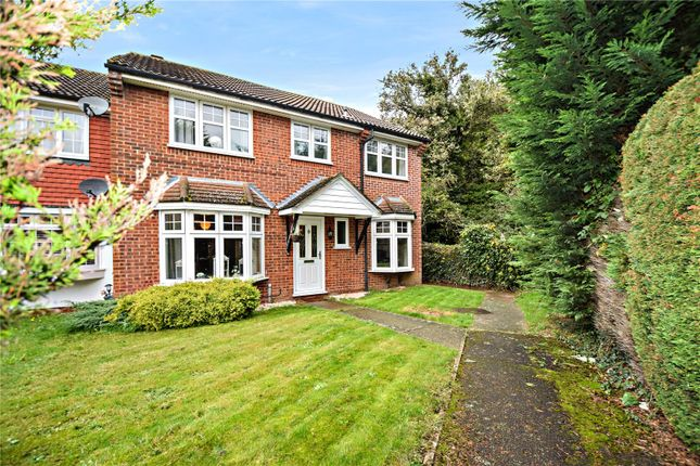 Thumbnail 4 bed end terrace house for sale in Glendale, Swanley, Kent