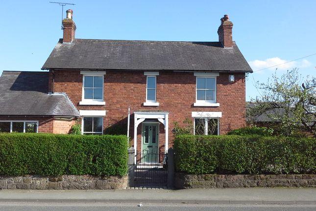 Thumbnail Detached house for sale in Chester Road, Rossett