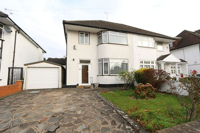 Thumbnail Semi-detached house for sale in Donnington Road, Kenton, Harrow, Middlesex
