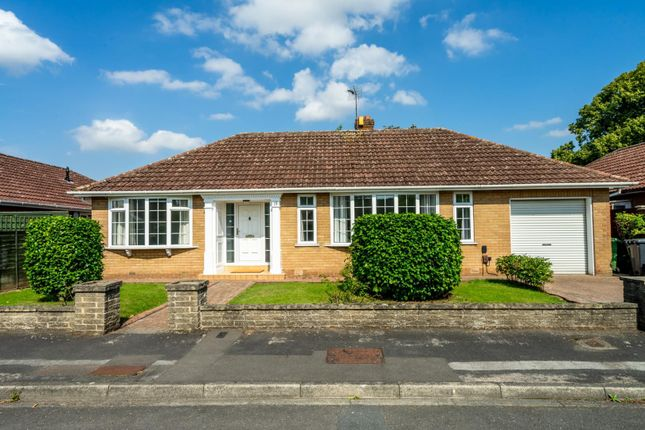 Thumbnail Detached bungalow for sale in Hillcrest Avenue, Nether Poppleton, York