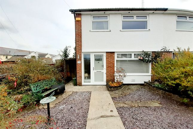 Thumbnail Semi-detached house for sale in Hillside, Aberdare, Rhondda Cynon Taff