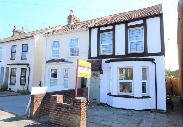Thumbnail Semi-detached house for sale in Peabody Road, Farnborough, Hampshire