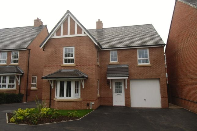 Thumbnail Detached house to rent in Halladale Drive, New Lubbesthorpe, Leicester