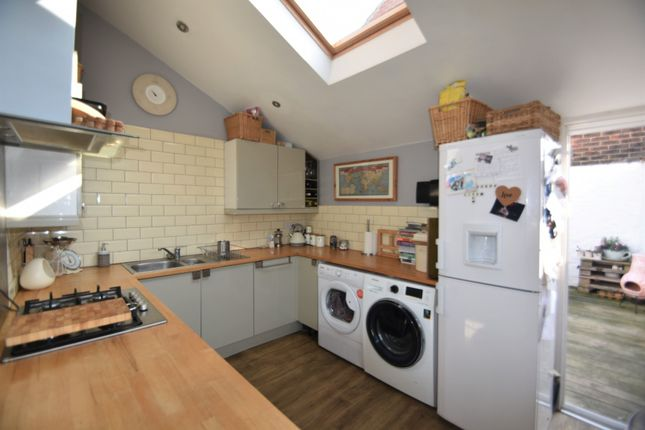 Thumbnail End terrace house to rent in Shearer Road, Portsmouth