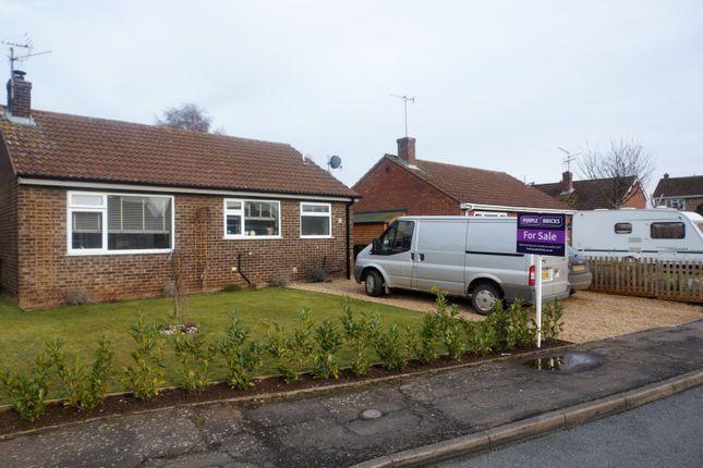 Thumbnail Detached bungalow for sale in Saxon Way, King's Lynn