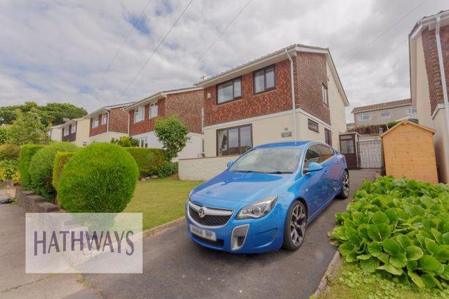 Thumbnail Detached house for sale in Laburnum Drive, New Inn, Pontypool
