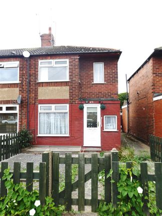 Thumbnail Semi-detached bungalow to rent in Moorhouse Road, Hull
