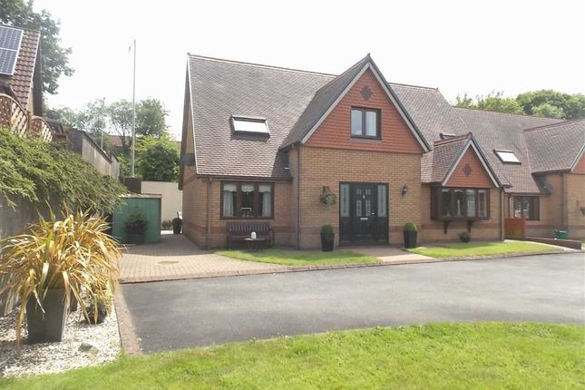 Thumbnail Detached house for sale in Clos Camlas, Trallwn, Pontypridd