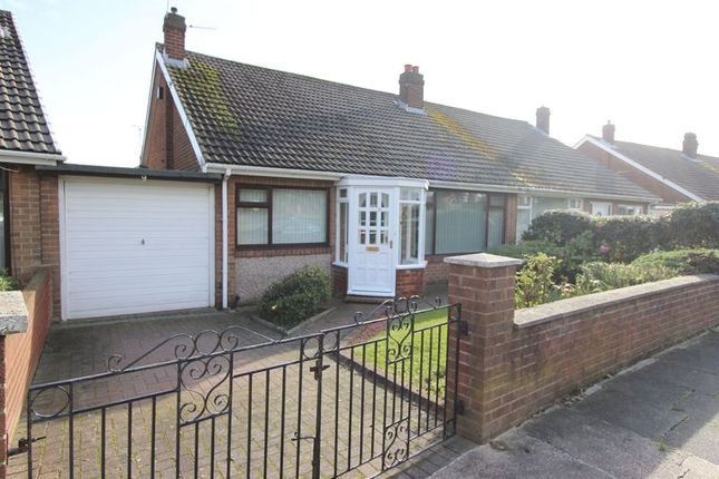Thumbnail Semi-detached bungalow for sale in Melbourne Place, High Barnes, Sunderland