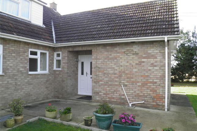 Thumbnail Semi-detached bungalow to rent in Northfield Road East, Market Deeping, Peterborough, Lincolnshire