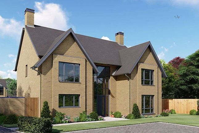 Thumbnail Detached house for sale in Harlestone Road, Northampton