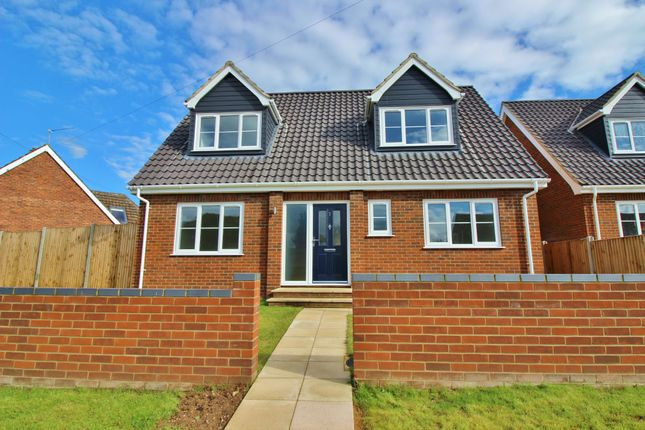 Thumbnail Detached bungalow for sale in Kabin Road, New Costessey, Norwich