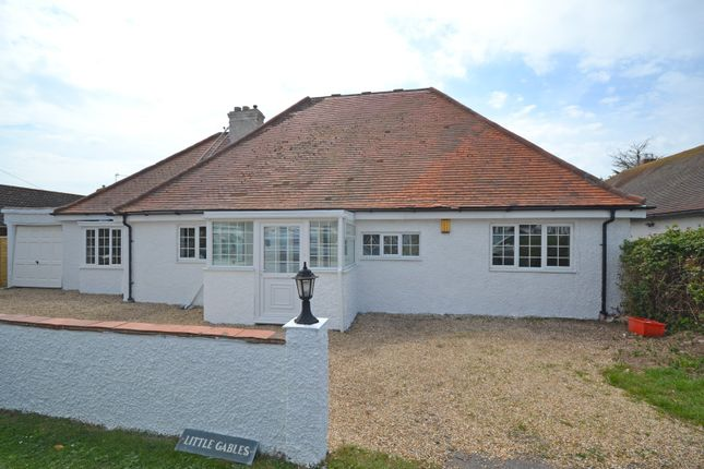 Thumbnail Detached bungalow for sale in The Bridgeway, Selsey
