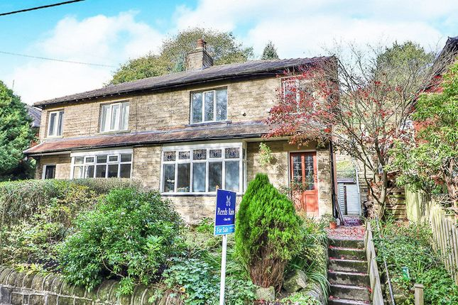 Thumbnail Semi-detached house for sale in Underbank Avenue, Hebden Bridge
