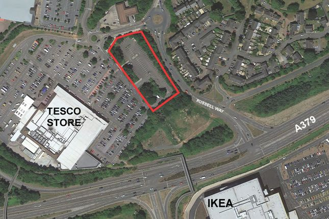 Thumbnail Land for sale in Development Land, Off Russell Way, Exeter