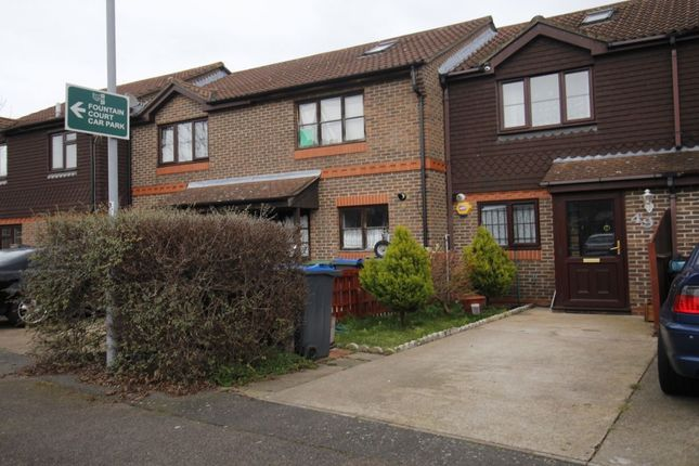 Thumbnail Terraced house to rent in Gooding Close, New Malden