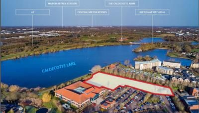 Thumbnail Office for sale in Proposed Lakeside Office Development, Monellan Grove, Caldecotte, Milton Keynes, Buckinghamshire