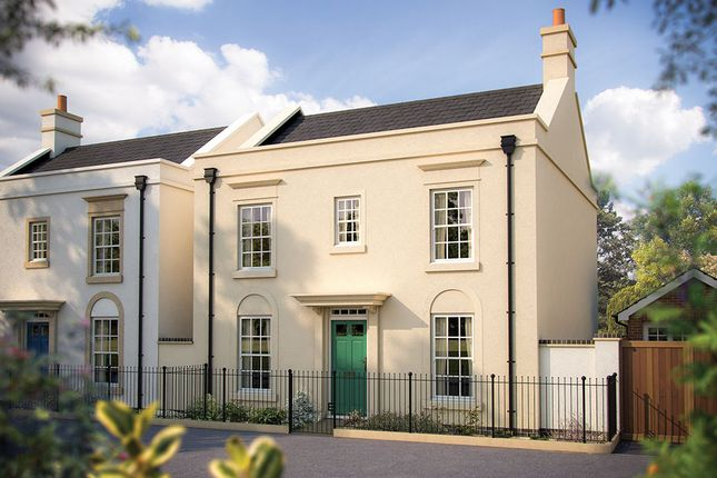 "Thumbnail Detached house for sale in ""The Bovisand"" at Haye Road, Sherford, Plymouth"