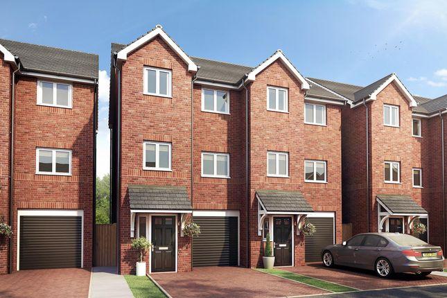 Thumbnail Town house to rent in Brierley Lane, Bilston