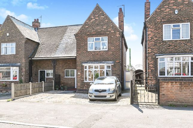 Thumbnail Semi-detached house for sale in Longfield Lane, Ilkeston