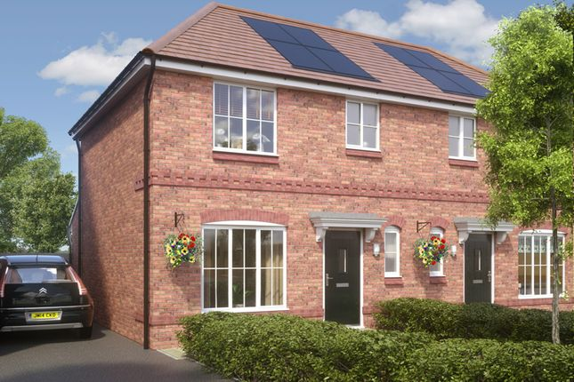 Thumbnail Semi-detached house for sale in Ellesmere, Blackberry Lane, Brinnington, Stockport, Greater Manchester