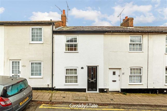 Thumbnail Terraced house to rent in New Town, Hitchin, Hertfordshire