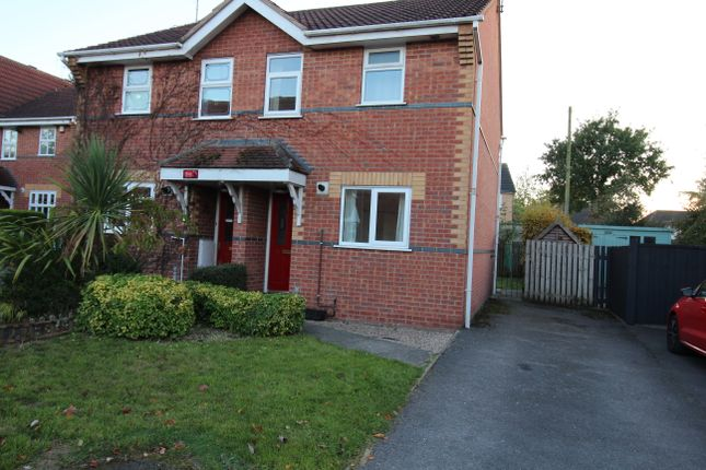 Thumbnail 2 bed semi-detached house to rent in Ashbrook Close, Uttoxeter