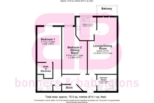 Thumbnail Flat for sale in Longwick Road, Princes Risborough