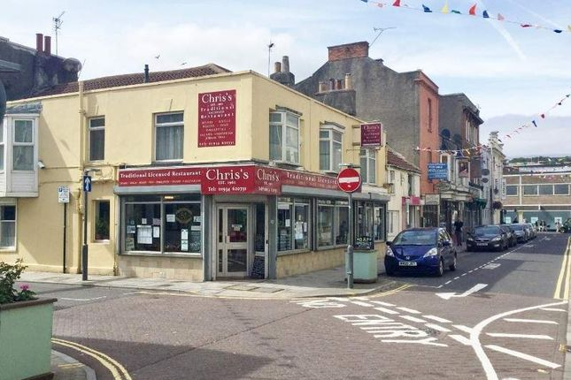 Thumbnail Restaurant/cafe for sale in 12 -16 St James Street, Weston-Super-Mare