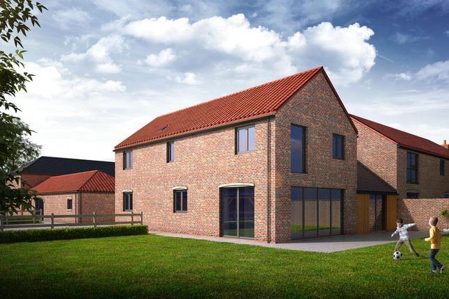 Thumbnail Link-detached house for sale in Gainsborough Road, Middle Rasen, Market Rasen