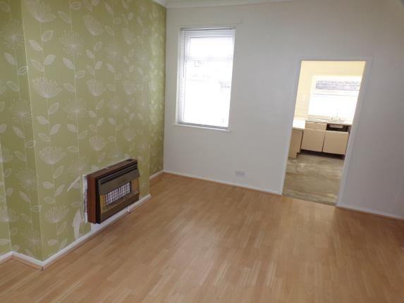 Living Room of Makin Street, Liverpool, Merseyside L4