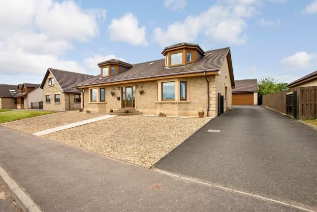 Thumbnail Detached house for sale in New Trows Road, Lesmahagow, Lanark, South Lanarkshire