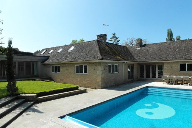 Thumbnail Detached house for sale in New Road, Woodmancote, Cheltenham
