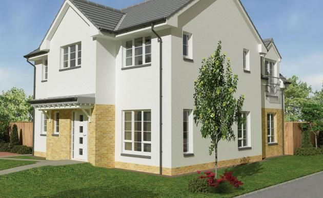 Thumbnail Detached house for sale in The Lauder, Middleton Road, Perceton, Irvine, North Ayrshire