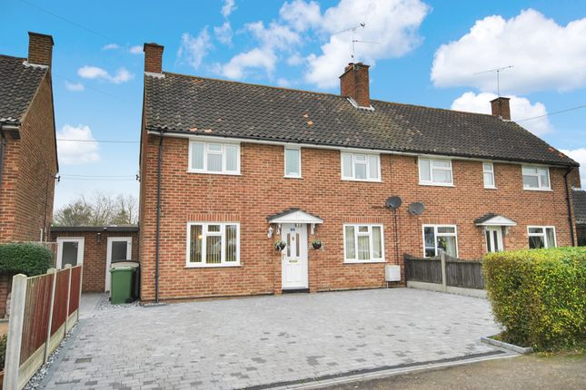 Thumbnail Semi-detached house for sale in Church Green, Wickham Bishops, Witham
