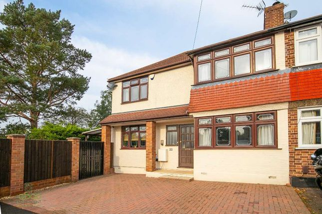 Thumbnail End terrace house for sale in Southern Drive, Loughton