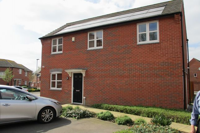 Thumbnail Detached house for sale in Beagle Close, Leicester