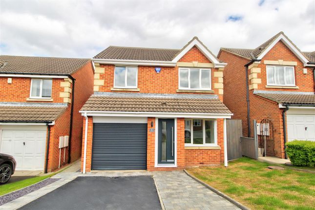 Thumbnail Detached house for sale in Okehampton Drive, Newbottle, Houghton Le Spring