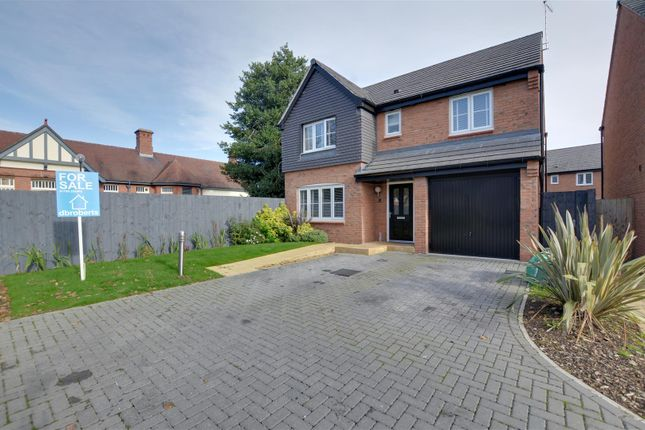 Thumbnail Detached house for sale in Pearl Brook Avenue, Stafford