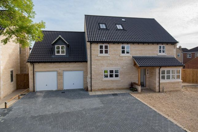 Thumbnail Detached house for sale in Ashfields, Deeping St. James Road, Deeping Gate, Peterborough