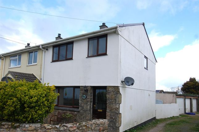 Thumbnail End terrace house for sale in Levant Road, Pendeen, Penzance