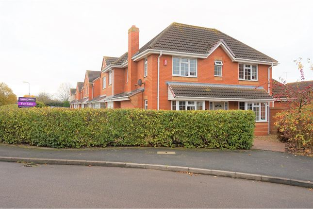 Thumbnail Detached house for sale in Cordelia Green, Warwick