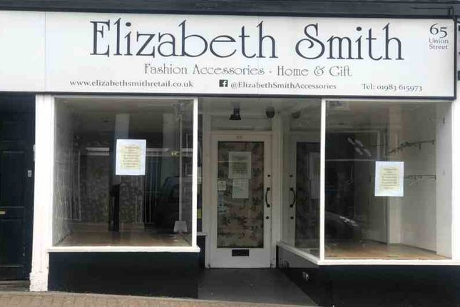 Thumbnail Retail premises to let in Victoria Arcade, Union Street, Ryde