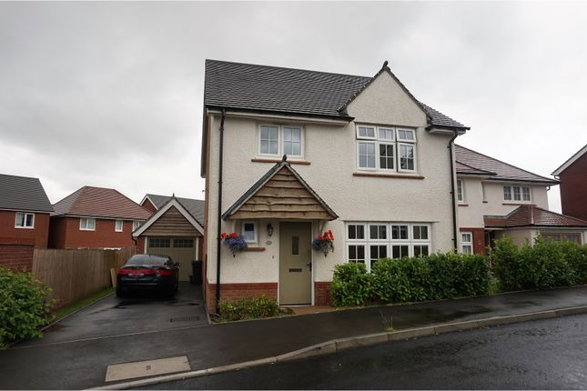 Thumbnail Detached house for sale in Highfield Rise, Treharris