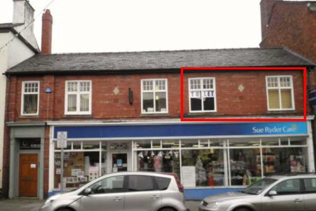 Commercial property to let in High Street, Welshpool