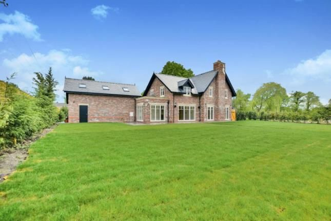 Thumbnail Detached house for sale in Newton Hall Lane, Mobberley, Knutsford, Cheshire